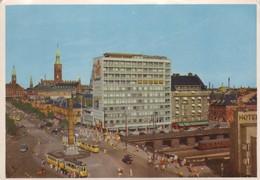 Postcard Copenhagen View Over Vesterbro Passage My Ref B22221 - Denmark