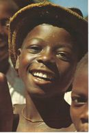 Ragazzi Dello Zaire (centro Africa).  (scan Verso) - Centrafricaine (République)