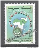 Maroc - Morocco 2005 Yvert 1367, 60th Anniv. Of The League Of Arab States - MNH - Marruecos (1956-...)