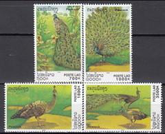 Laos 2000 (MNH) - Green Peafowl (Pavo Muticus) - Peacocks