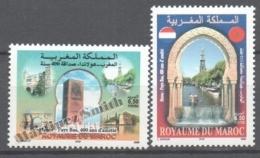 Maroc - Morocco 2005 Yvert 1380-81, 400 Years Of Diplomatic Relations With Netherlands - MNH - Marruecos (1956-...)