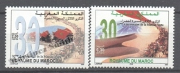 Maroc - Morocco 2005 Yvert 1376-77, 30th Anniv. Of The Green Walking - MNH - Marruecos (1956-...)