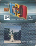 TARJETA TELEFONICA DE MOLDAVIA. 01.00 TIRADA 150000 (010) - Moldavie