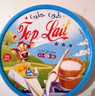 """Étiquette  De Boite De Fromages """"TOP LAIT"""" . - Cheese"""