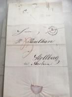 Lettre De Stolberg Pour Aachen 1843 - Germania