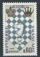 "FR YT 1480 "" Festival D'Echecs "" 1966 Neuf** - Ungebraucht"