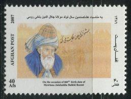 2007 AFGANISTÁN: Rumi - Filosofo - Afghanistan