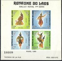 A119- Laos 1969 Ballet Royal Art. - Laos