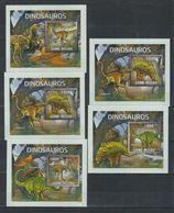 O61. MNH Guine-Bissau Nature Animals Prehistoric Animals - Prehistorics