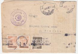 Yugoslavia, Franked Document Travelled 1951 Ljubljana To Domžale B180210 - 1945-1992 Sozialistische Föderative Republik Jugoslawien