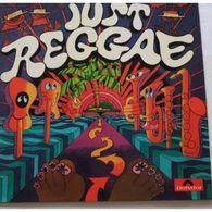 JUST REGGAE Original 1975 Label:polydor 2393 121 Pochette NM Disque NM - Reggae