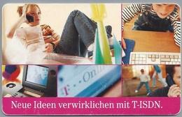 DE.- Telecom TELEFONKARTE. 12 DM. -Neue Ideen Verwirklichen Met T-ISDN. - S PD 8 99 - Telefoon