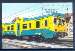 A149- Guiné-Bissau 1989. Train. - Trains