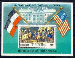 A153- Republique De Haute-Volta, Upper Volta 1976. USA 1776-1976. - Upper Volta (1958-1984)