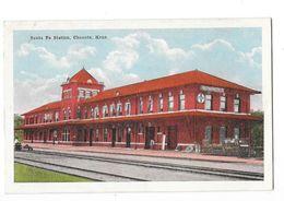 CHANUTE Santa Fé Station Gare Du Chemin De Fer - Etats-Unis