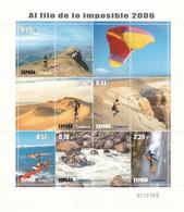 """2006, Spanien, 4110/15, Fernseh-Dokumentarserie """"Am Rande Des Unmöglichen"""". MNH ** - 2001-10 Unused Stamps"""