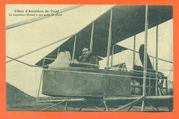 """CPA 54 Fetes D'aviation De Toul """" Le Lieutenant Nicaud à Son Poste De Pilote """" LJCP 59 - Toul"""