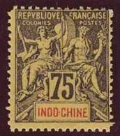 INDOCHINE  - Yv. 14  - Type Groupe - Faux De Fournier  ..Réf.AFA22814 - Indochine (1889-1945)
