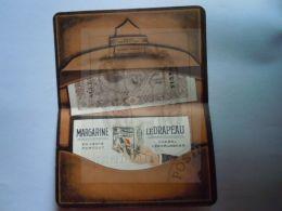 """Reclame Publicité Margarine """"Le Drapeau"""" De Vlag Merxem (Anvers) Afbeelding Portefeuille Image  Open 16 X 12,5 Cm - Reclame"""