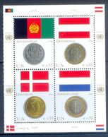 A159- UNO United Nation Flag & Coin Series 2006. Afghanistan Denmark Nederland Osterreich. - UNO