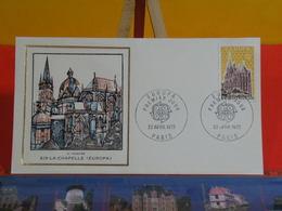FDC Luxe > Europa CEPT Aix La Chapelle (H. Thiaude) > (75) Paris > 22.4.1972 > 1er Jour - 1970-1979