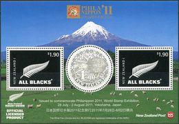 New Zealand 2011. Michel Bl.#278 MNH/Luxe. International Philatelic Exhibition PHILANIPPON 2011, Yokohama. Kiwi. (Ts27) - Kiwi