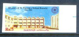 A174-  Imperf Of Pakistan 125th Anvi Of St.Patricks School, Karachi. - Pakistan
