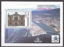 2006, Spanien, 4129 Block 149, EXFILNA '06, Algeciras. MNH ** - 2001-10 Unused Stamps