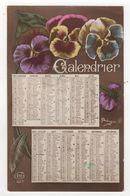 CPA - Carte Calendrier - Année 1917 - - Otros