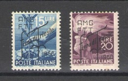 TRIESTE 1950 FIERA DI TRIESTE * LNH - 7. Trieste