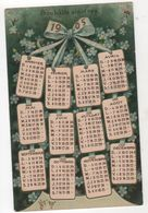 CPA - Carte Calendrier - Année 1905 - - Otros