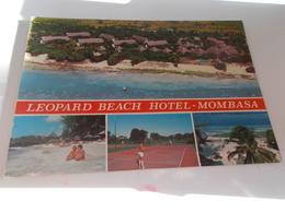 B678  Mombasa Kenia Hotel Leopard Beach Macchie Umido - Kenia