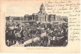 Bruxelles - CPA - Panorama Et Palais De Justice - Panoramische Zichten, Meerdere Zichten