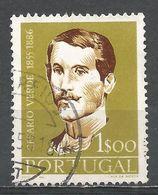 Portugal 1957. Scott #828 (U) Jose Joaquim De Cesario Verde (1855-86), Poet - 1910-... République