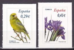 2006, Spanien, 4143/44, Freimarken: Flora Und Fauna.  MNH ** - 1931-Today: 2nd Rep - ... Juan Carlos I
