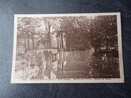 Cpa  91  Montgeron Parc écluses  Rivière De L'yerres  Moulin De Senlis - Montgeron