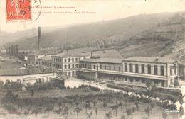 Usine La Moulasse (Papier Job), Près St-Girons (Labouche N°347) (commune : Eycheil) - Frankreich