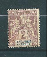 Colonie Timbres De Sénégambie Et Niger De 1903  N°2  Neuf * - Senegambie Und Niger (1903-1906)