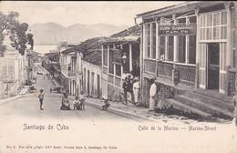 CUBA---SANTIAGO DE CUBA--calle De La Marina--marina Street---voir 2 Scans - Cuba