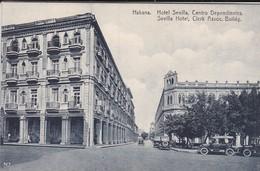 CUBA---RARE----HABANA---hôtel Sevilla, Centro Dependientes---voir 2 Scans - Cuba