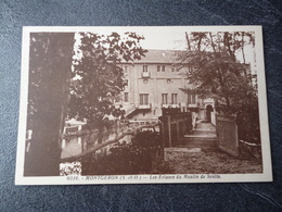 Cpa  91  Montgeron   Les écluses Du Moulin De Senlis - Montgeron