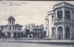 CUBA----HABANA---residencias En El Vedado--voir 2 Scans - Cuba