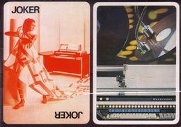 Joker  - Dos  PUB Burroughs - Cartes à Jouer Classiques