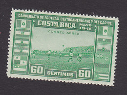 Costa Rica, Scott #C61, Mint Hinged, Soccer, Issued 1941 - Costa Rica