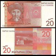 Kyrgyzstan 20 Som 2009 UNC - Kyrgyzstan