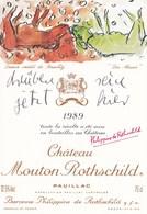 Illustration Dessin Inedit De Baselitz Die Mauer 1989 Mouton Rothschild Pauillac - Illustrateurs & Photographes