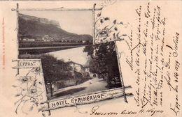 EPPAN-APPIANO-BOZEN-BOLZANO-HOTEL EPPANEAHOF-CARTOLINA TIPO GRUSS-VIAGGIATA IL 5-10-1899 - Bolzano (Bozen)