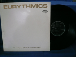 Eurythmics Maxi 45t It' S Alright (Baby's Comming Back) - Reggae