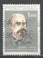Portugal 1964. Scott #940 (U) Eduardo Coelho, Journalist - Oblitérés