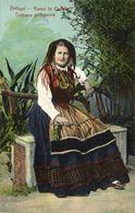 Portugal, Viana Do Castelo, Costumes Portuguezes, Necklace (1910s) Postcard (2) - Portugal
